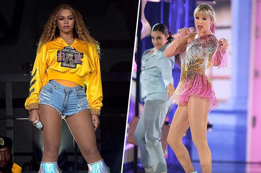 Did Taylor Swift rip off Beyoncé's Coachella performance?
