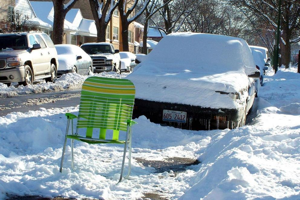 Can you call 'dibs' on a parking spot you shoveled?
