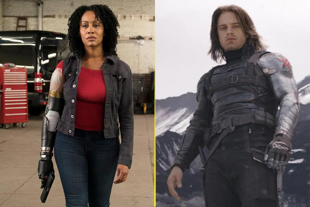 Who would win an arm wrestling contest: Misty Knight or the Winter Soldier?