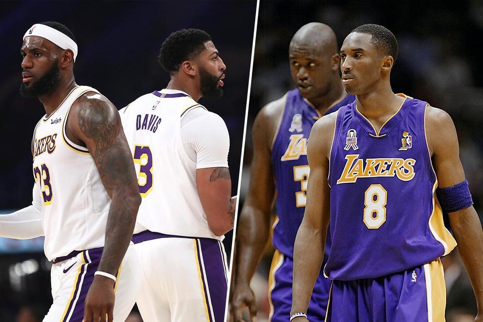 Who would win 2-on-2: LeBron James-Anthony Davis or Kobe Bryant-Shaquille O'Neal?