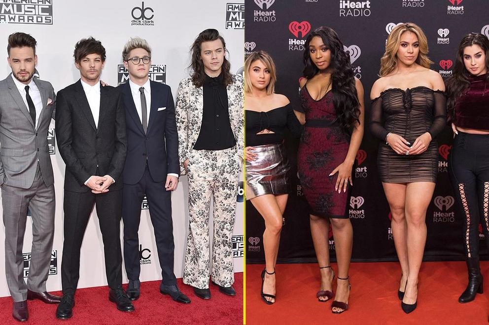 Which pop group do you miss the most: One Direction or Fifth Harmony?
