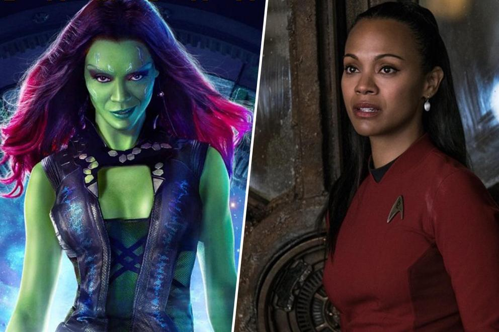 Zoe Saldana's best film role: Gamora or Uhura?