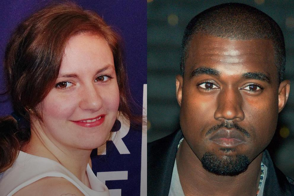 Does Lena Dunham have room to judge Kanye's 'Famous' video?
