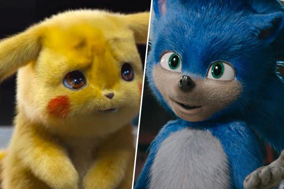 Favorite video game movie character: Detective Pikachu or Sonic the Hedgehog?