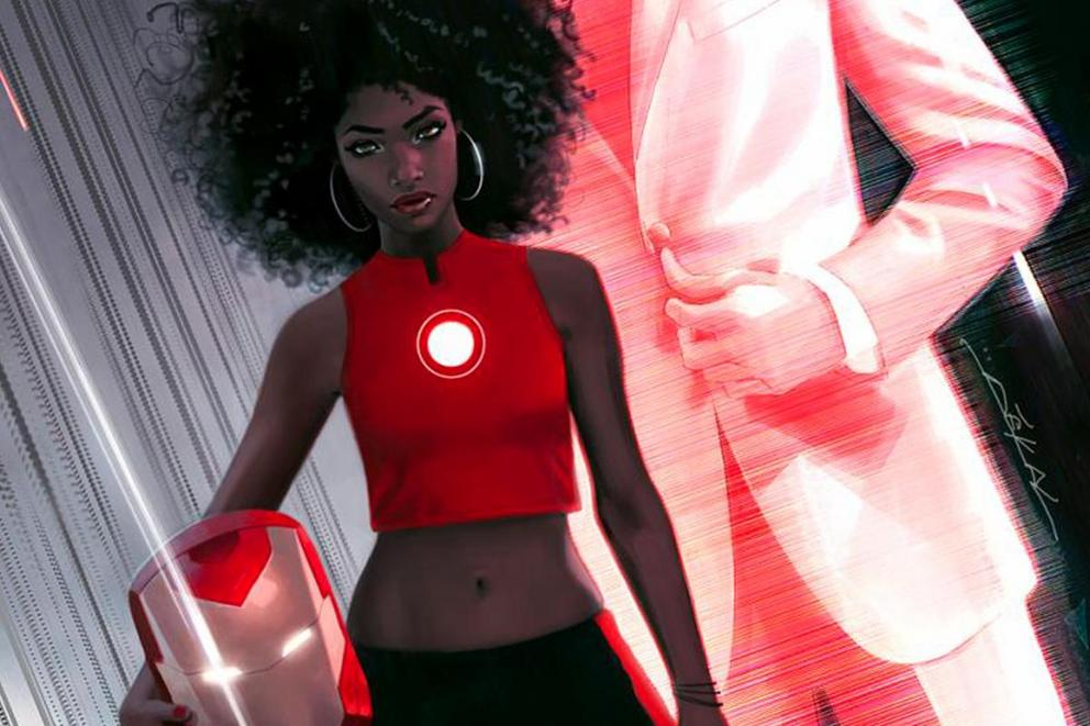 Should a new superheroine take on the moniker of Iron Man?