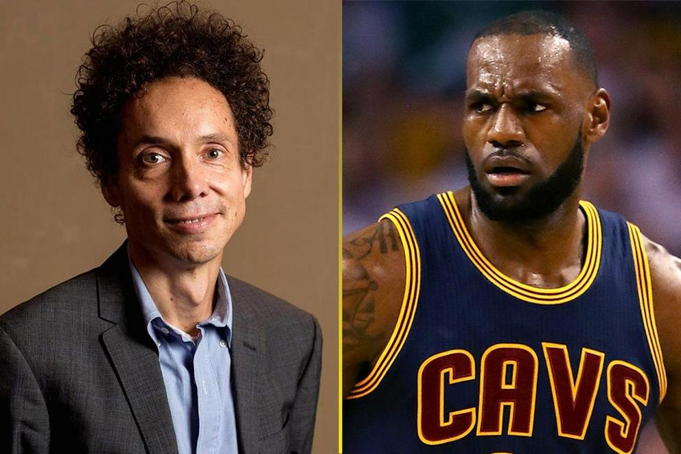 Would Malcolm Gladwell beat LeBron James in a 1-mile race?