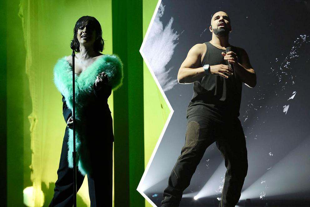 Dancehall-pop song of the year: 'Work' or 'One Dance'?