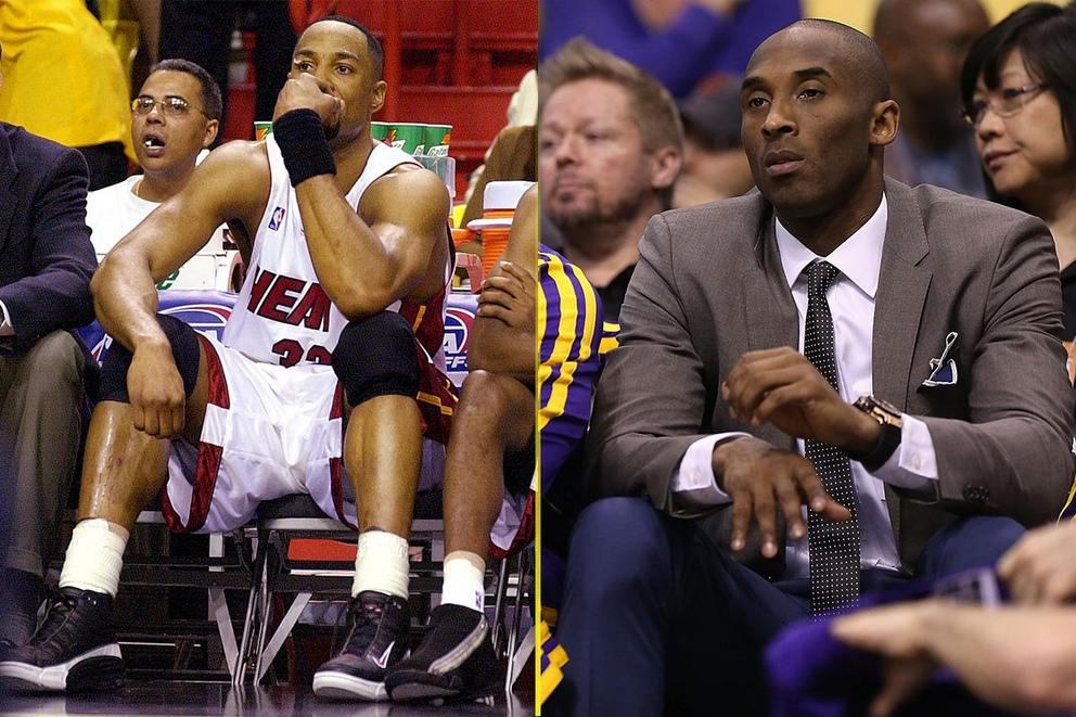 Best NBA GIF: Mourning's bemused acceptance or Kobe Bryant's five rings?