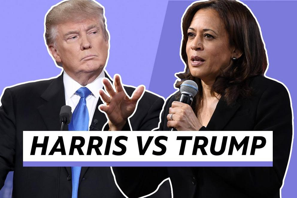 Who do you want to be president—Kamala Harris or Donald Trump?