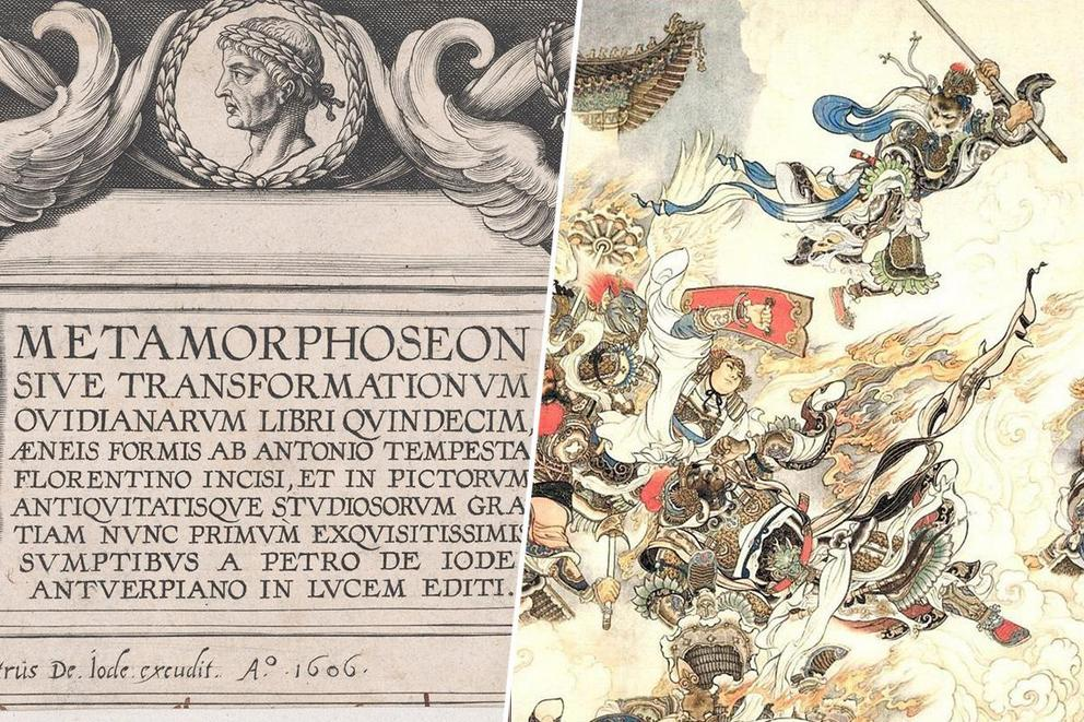 Greatest epic of world literature: 'Metamorphoses' or 'Journey to the West'?