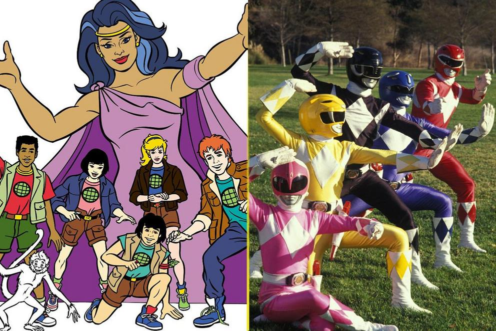 Best TV show theme song from the '90s: 'Captain Planet' or 'Power Rangers'?