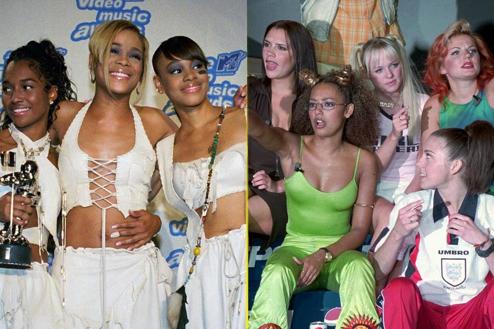 Most iconic '90s girl group: TLC or Spice Girls?