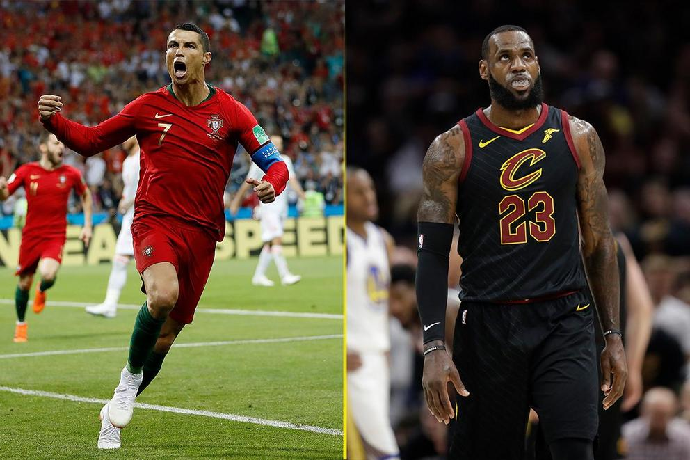 Most dominant athlete of 2018 so far: Cristiano Ronaldo or LeBron James?