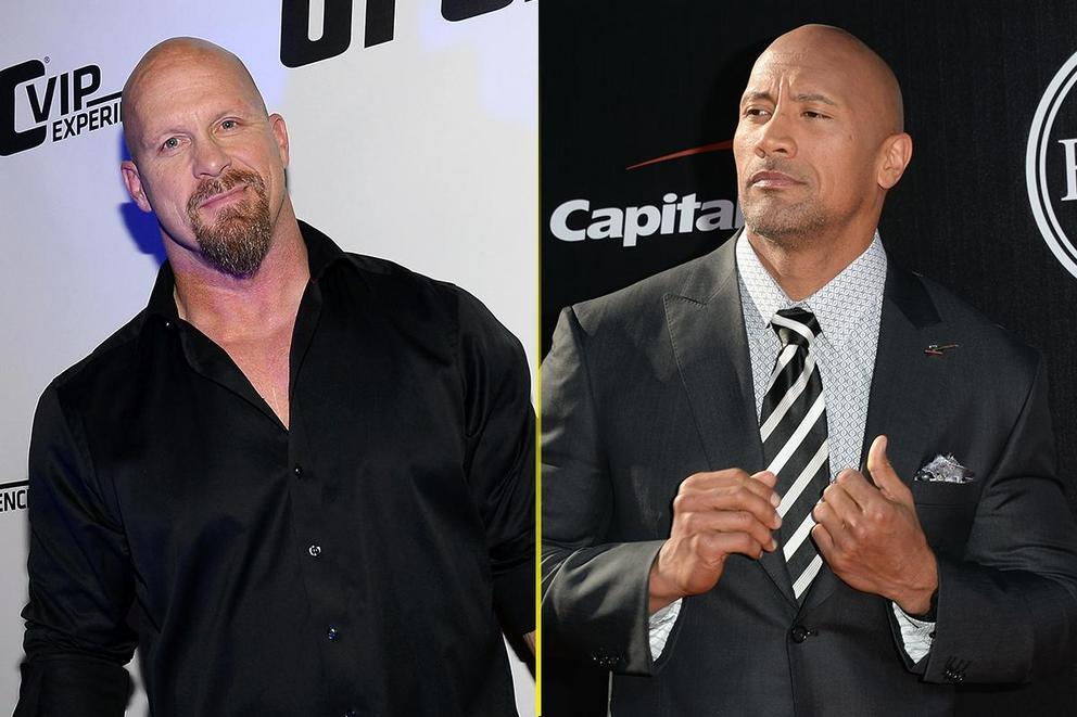 Best face of the WWE: 'Stone Cold' Steve Austin or Dwayne 'The Rock' Johnson?
