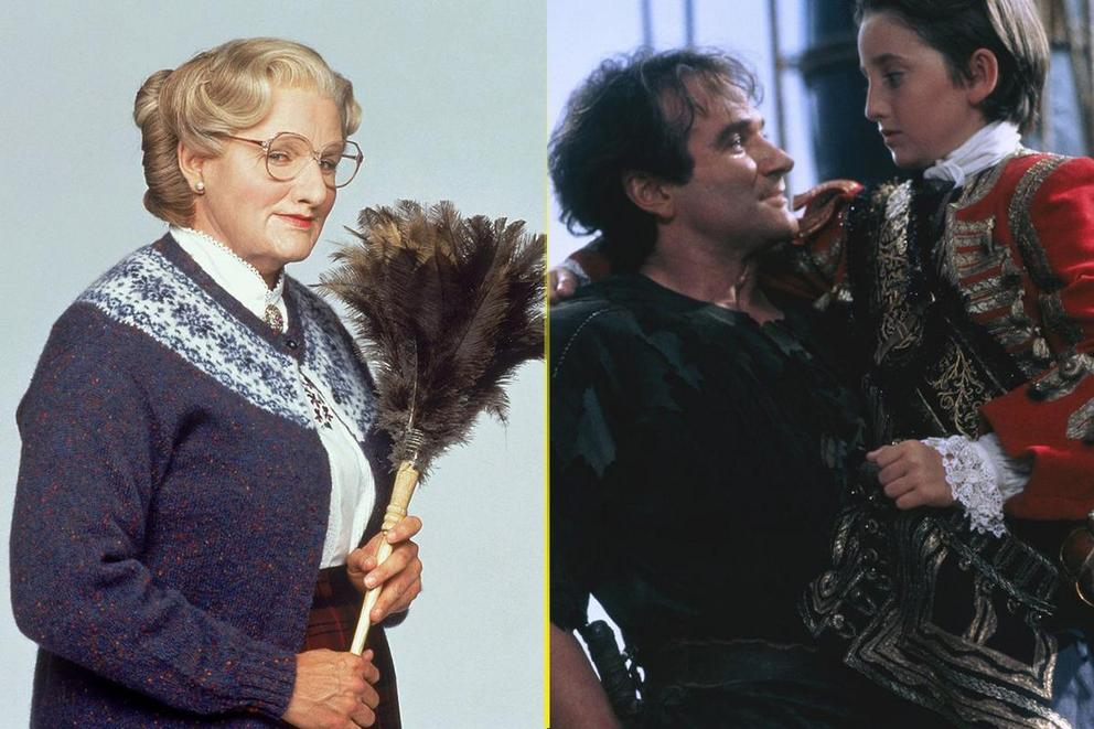 Robin Williams' funniest movie: 'Mrs. Doubtfire' or 'Hook'?