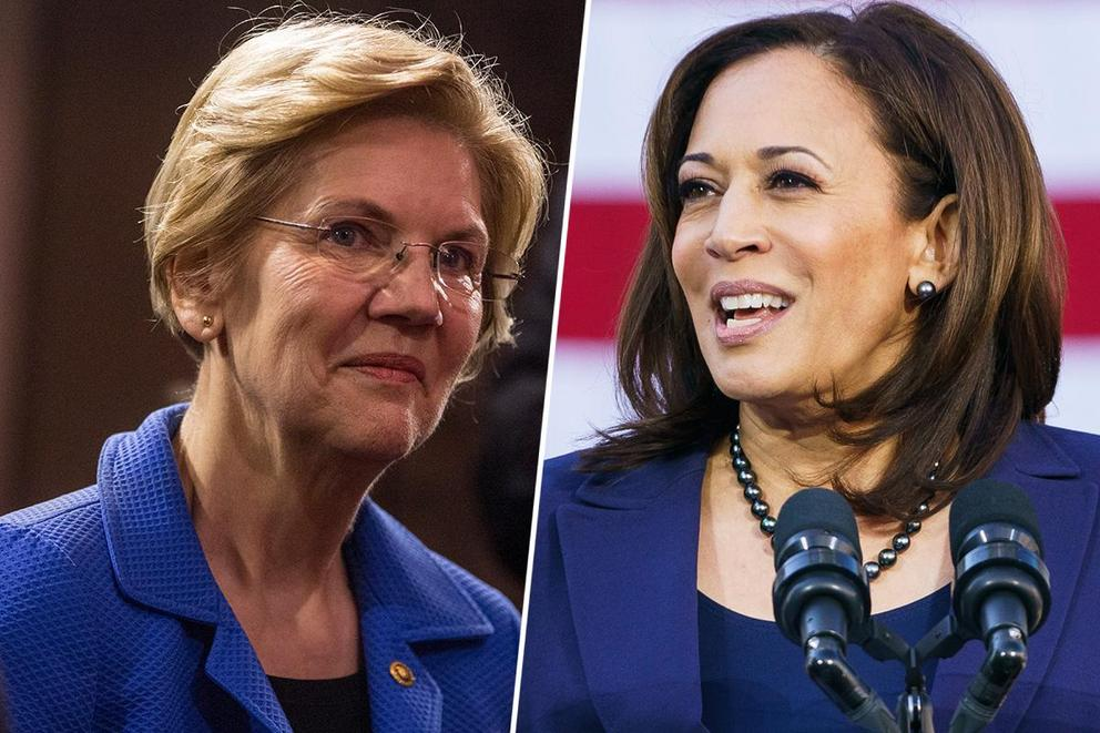 Who should be the first female president: Elizabeth Warren or Kamala Harris?