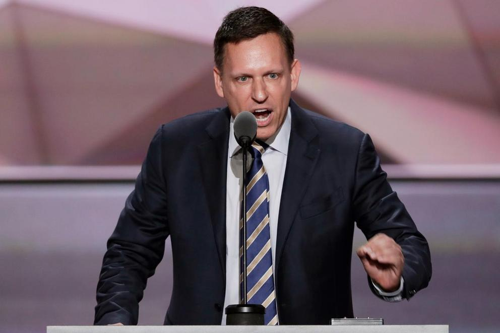 Is billionaire Peter Thiel qualified to be a Supreme Court justice?