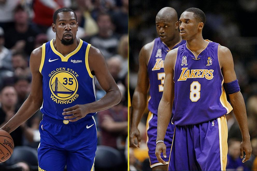 Who would win a 7-game series: 2018 Golden State Warriors or 2001 Los Angeles Lakers?