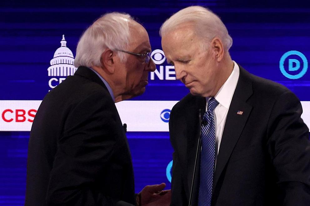 Would you rather vote for Bernie Sanders or Joe Biden?