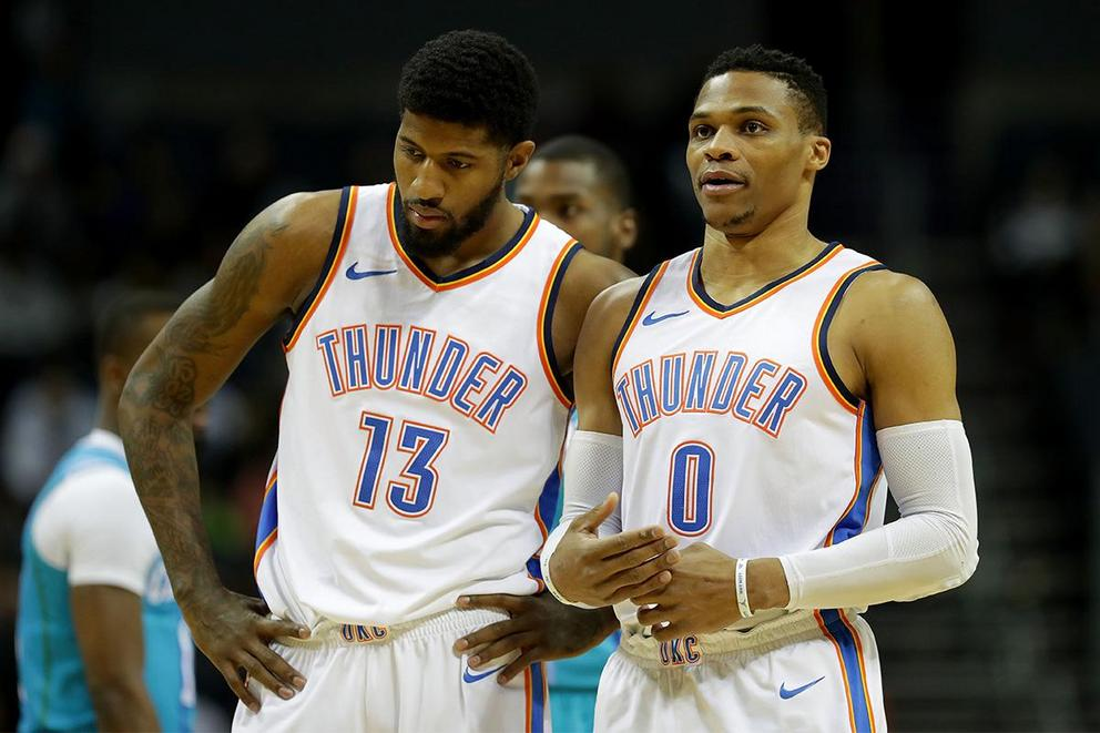 Who is the Thunder's real MVP: Paul George or Russell Westbrook?