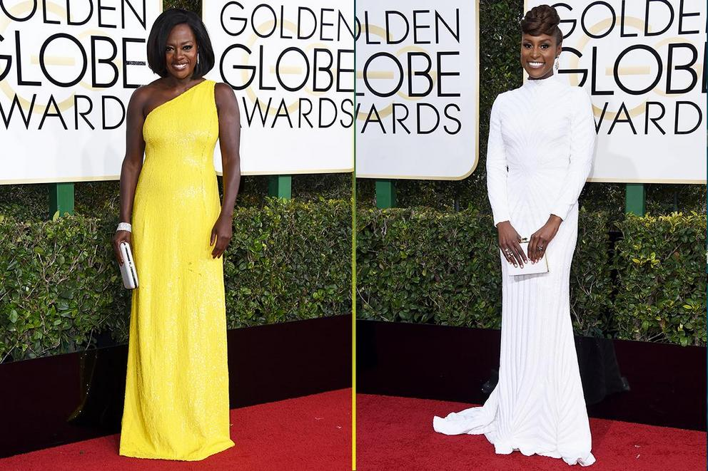 Who was best dressed at the Golden Globes?
