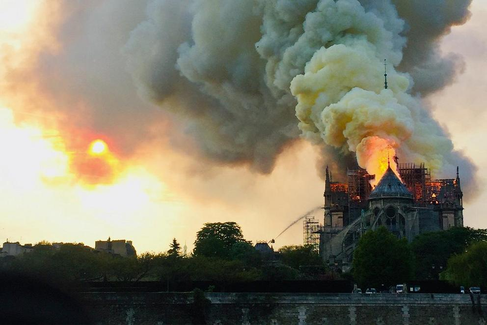 Should the U.S. be sending money to France to rebuild Notre Dame?