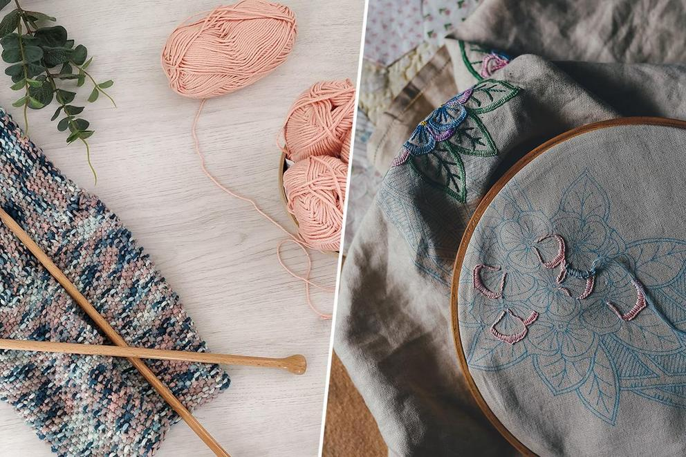 Would you rather learn to knit or to embroider?