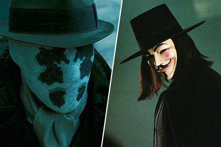 Favorite political DC movie: 'Watchmen' or 'V for Vendetta'?