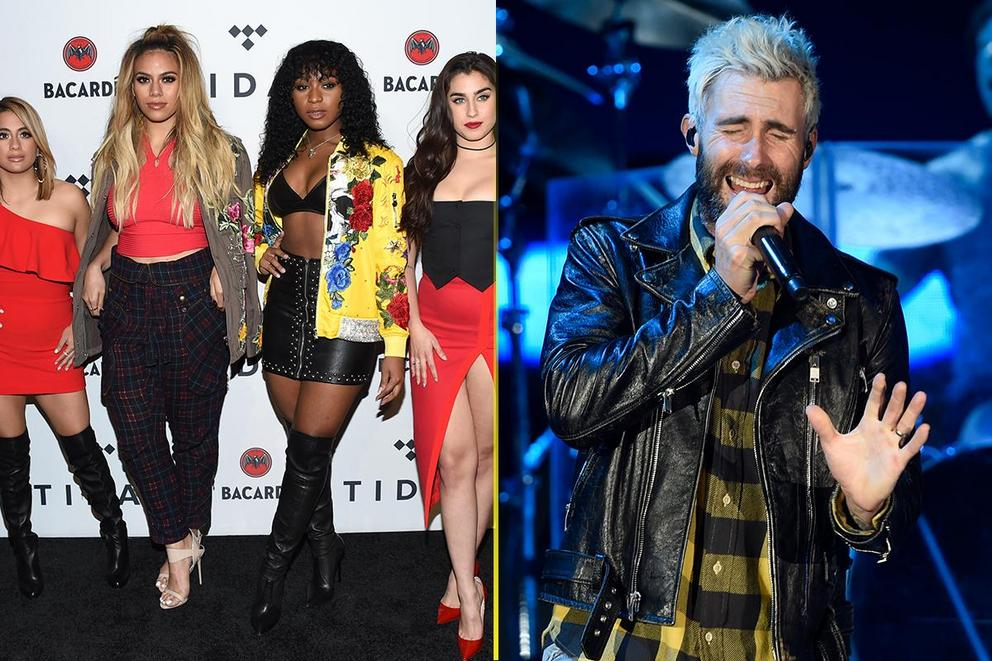 2018 Choice Music Group: Fifth Harmony or Maroon 5?