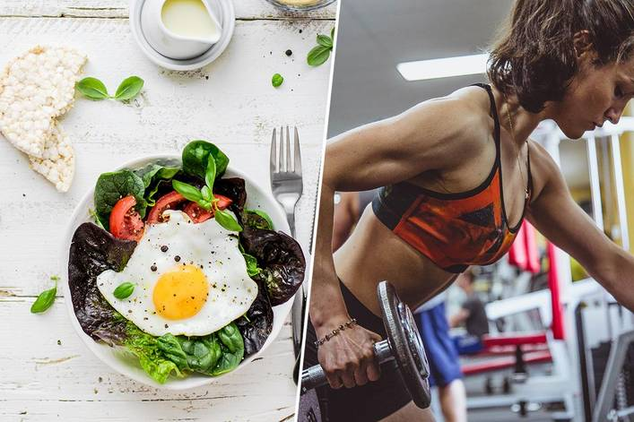 Better New Year's resolution: Eating healthier or exercising more?