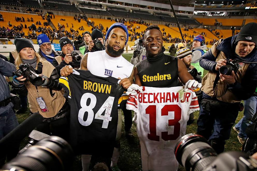 Which wide receiver is actually worth the headache: Antonio Brown or Odell Beckham Jr.?