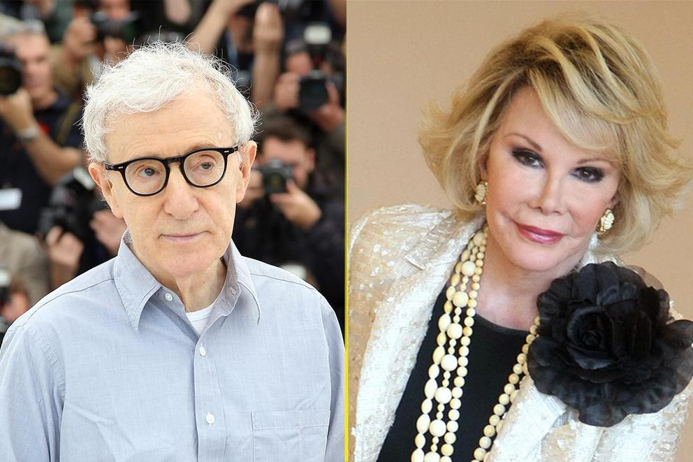 Who's funnier—Joan Rivers or Woody Allen?