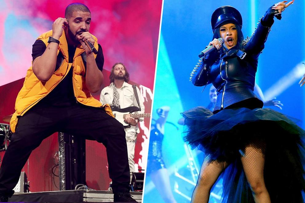 2019 Billboard Latin Crossover Artist of the Year: Drake or Cardi B?