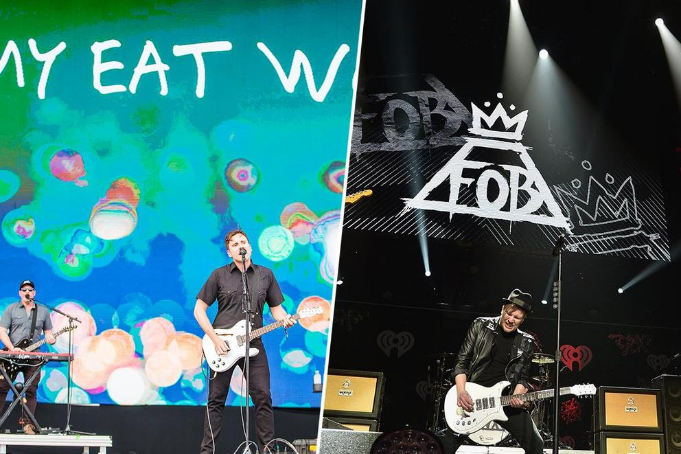 Who's your favorite original Fueled By Ramen band: Jimmy Eat World or Fall Out Boy?