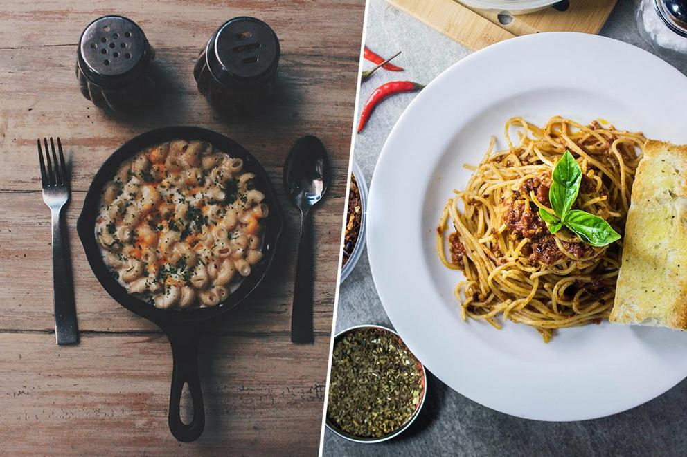 Best pasta dish: Mac and cheese or spaghetti?