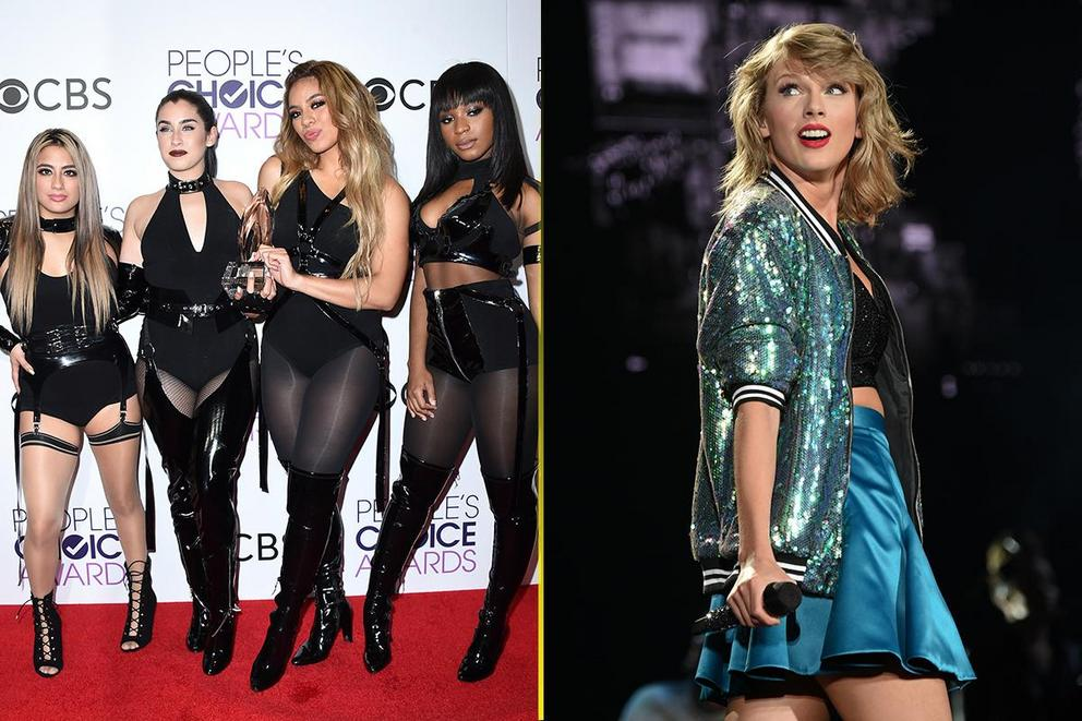 MTV EMAs Best U.S. Act: Fifth Harmony or Taylor Swift?