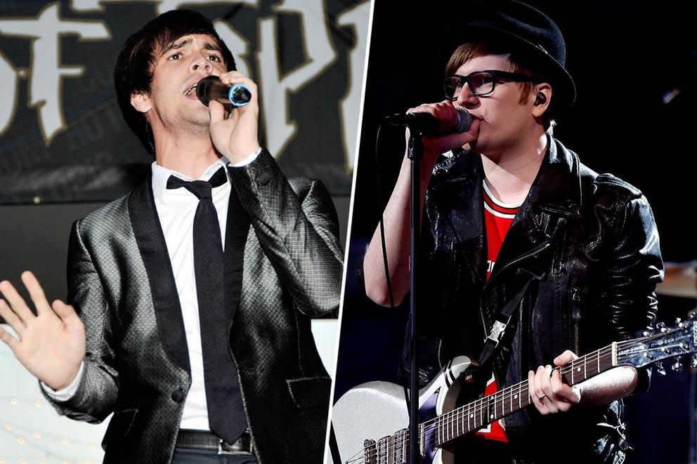 Most iconic pop punk band: Panic! at the Disco or Fall Out Boy?