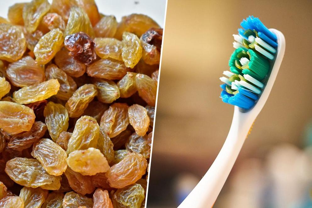 What's the worst thing you got while trick-or-treating: raisins or toothbrushes?