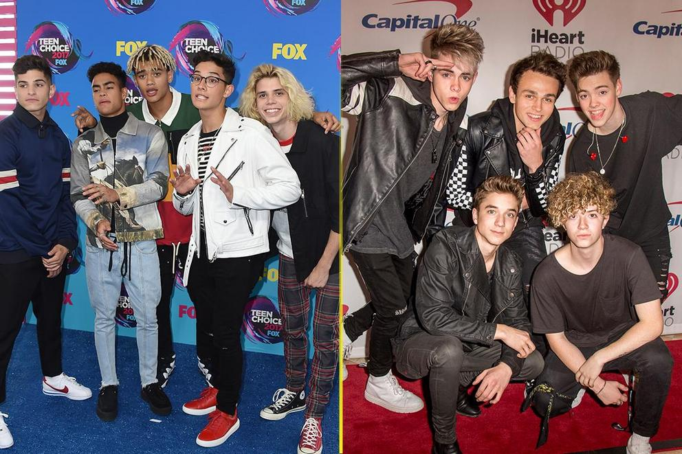 Which rising boy band will dominate the rest of 2018: PRETTYMUCH or Why Don't We?