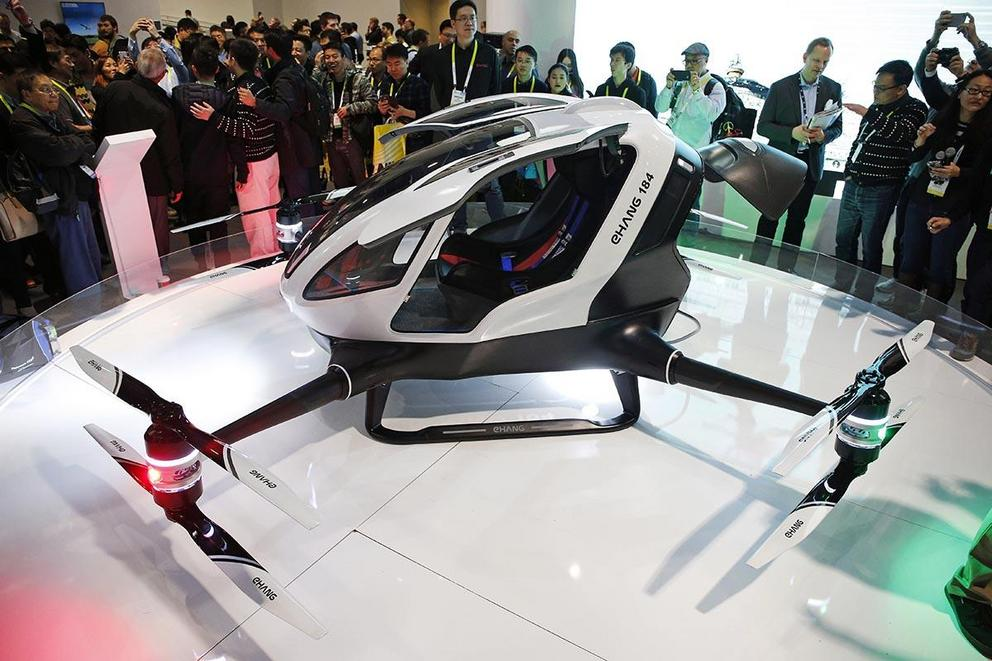 Would you trust your life to a self-piloting passenger drone?
