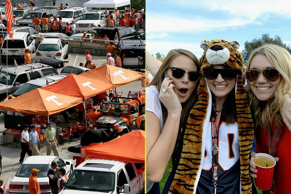 Who has the best tailgate: Tennessee or Auburn?