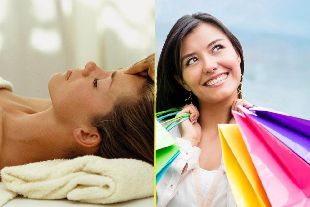 Treat Yo Self Day: Spa day or shopping?