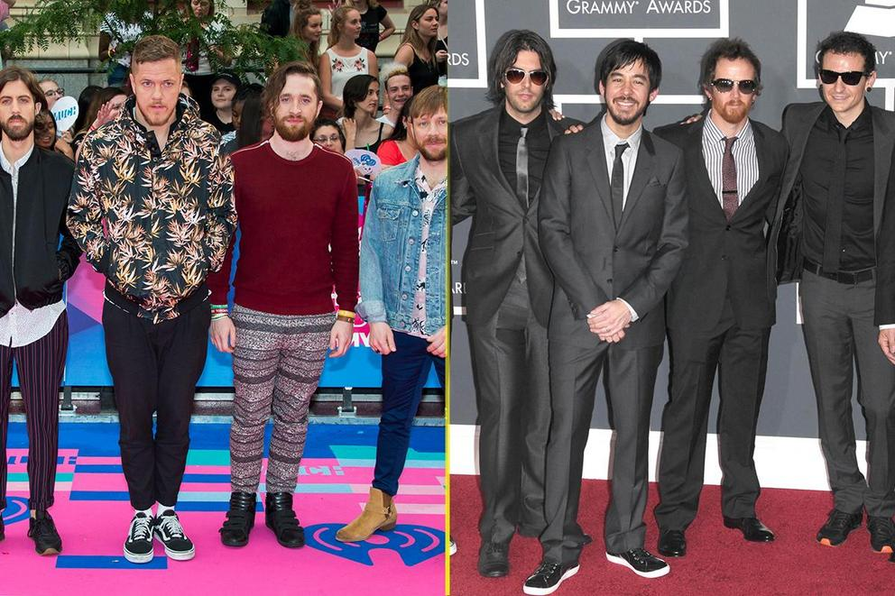 Choice Rock Artist: Imagine Dragons or Linkin Park?