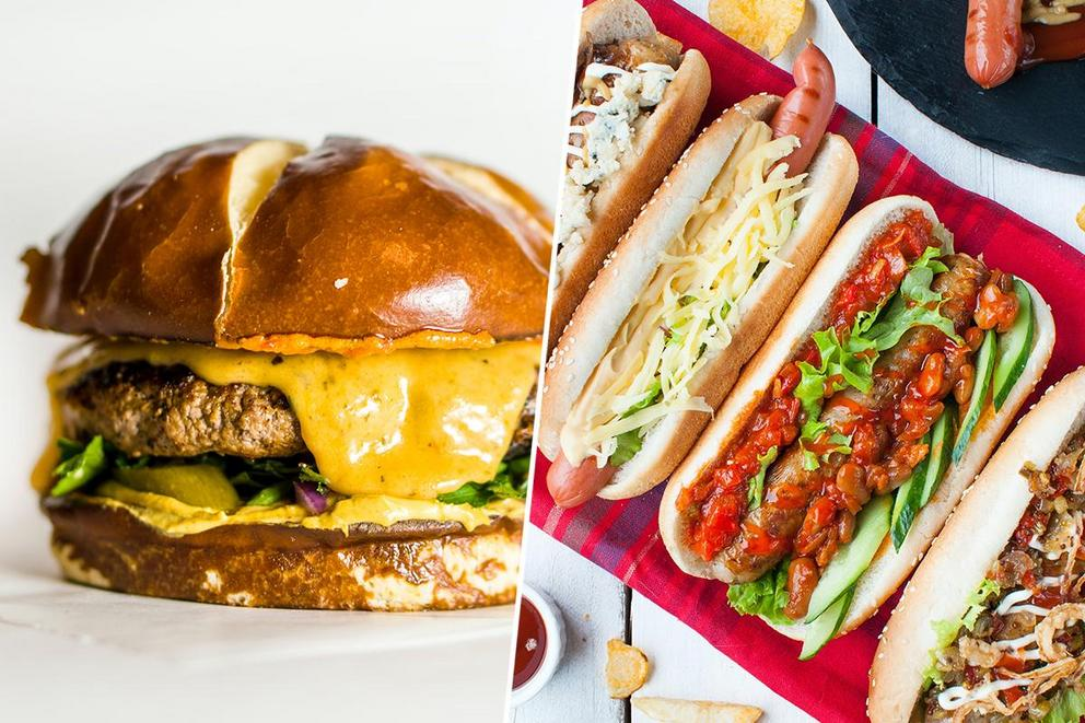 Which is better: hamburgers or hot dogs?