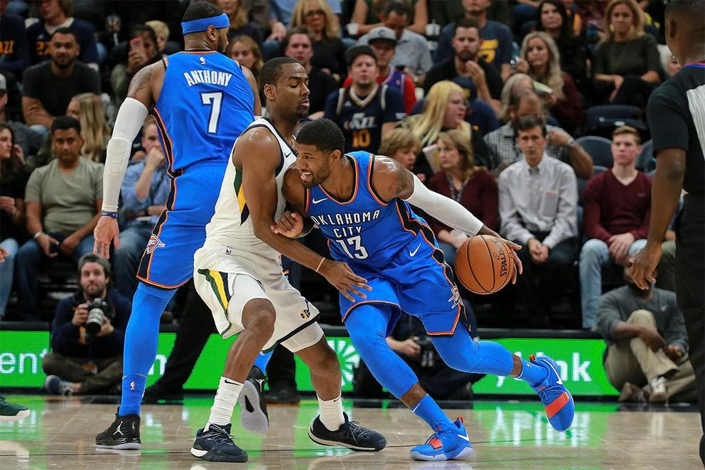 Who will survive the first round of the NBA Playoffs: Oklahoma City Thunder or Utah Jazz?