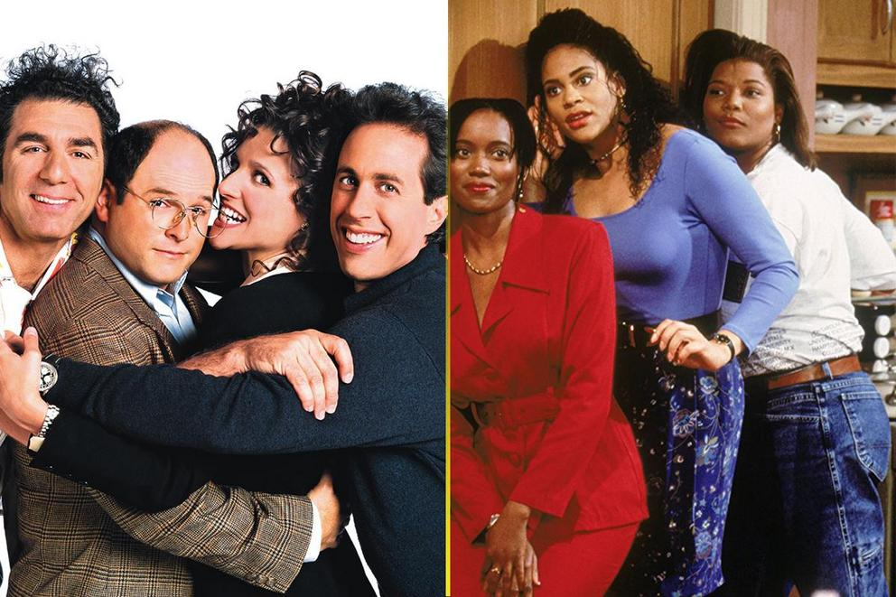 Best sitcom only '90s kids would remember: 'Living Single' or 'Seinfeld'?