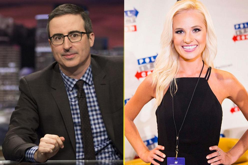 Who gave the best political rant of 2017: John Oliver or Tomi Lahren?