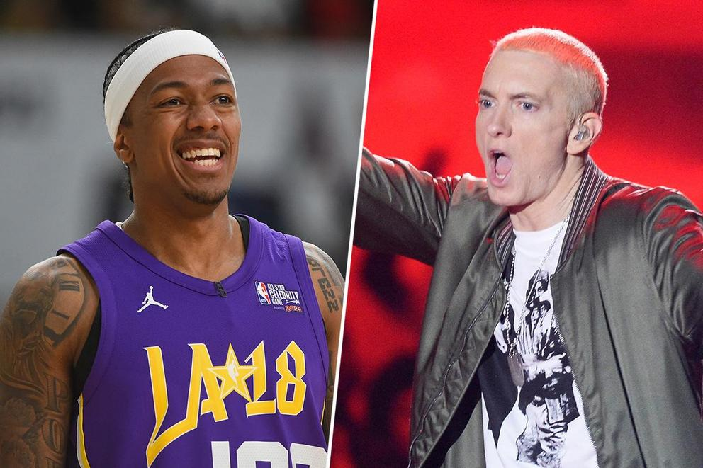 Whose side are you on: Nick Cannon or Eminem?