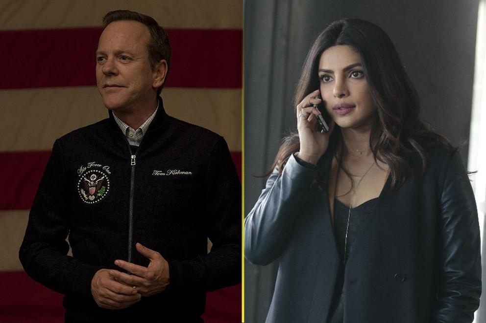 Which canceled TV show do you want to come back: 'Designated Survivor' or 'Quantico'?