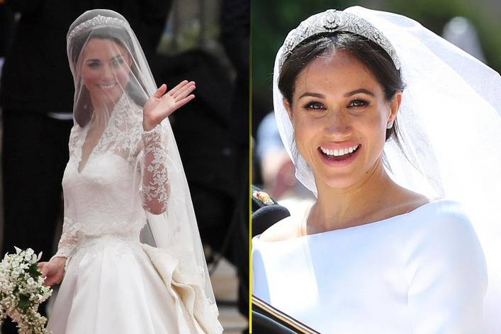 Who wore the best wedding dress kate middleton or meghan markle who wore the best wedding dress kate middleton or meghan markle junglespirit Images